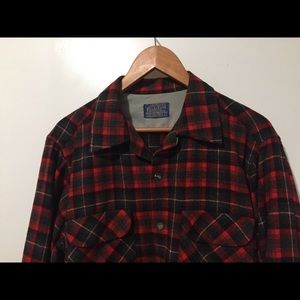 Pendleton Flannel Wool Shirt Large